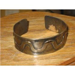 Silver Cuff Bracelet. Vintage #2377431