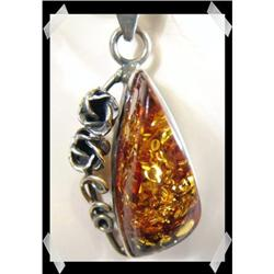 Sweet & Sassy Baltic Amber Sterling Silver#2377433