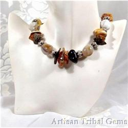 Genuine Baltic Amber Nugget Necklace~108 Grams #2377438