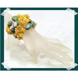 Genuine TURQOISE Baltic Amber Bracelet~100 #2377444