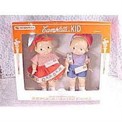 Set of Horseman Campbells Kids Dolls 1997 Mint #2377464