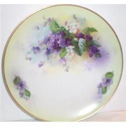 Violet Royal Rudolstadt Plate #2377486