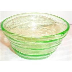 Green Catalonian Depression Glass Bowl #2377495