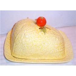 Crown Devon Tomato Covered Cheese Dish #2377506