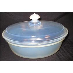 """Fry Ovenware 9"""" Covered Casserole  #2377522"""