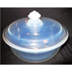 """Fry Ovenware 7"""" Round Covered Casserole  #2377523"""