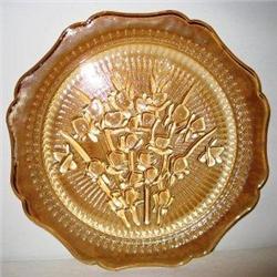 Iris Iridized Dinner Plate #2377532