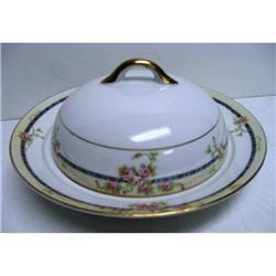 Noritake Rose Decorated Covered Butter #2377533