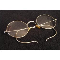 Antique Round Bifocal Spectacles #2377551