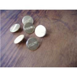 Six Brass Pullman Buttons #2377570