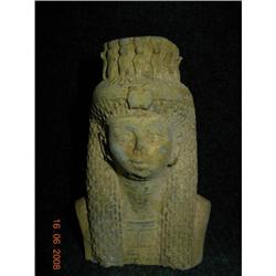 Ancient Egyptian Head of Isis New Kingdom #2377580