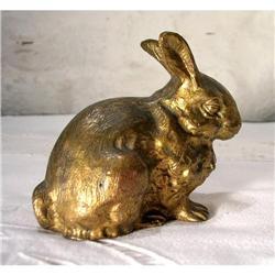Bronze Rabbit Goldplated #2377582