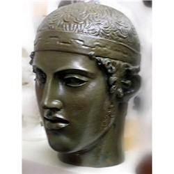 GREAT HEAD ANCIENT OLYMPICS MAN MUSEUM QUALITY #2377714