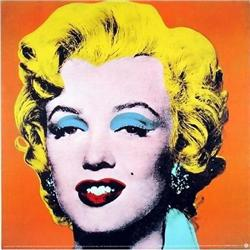 ANDY WARHOL RARE OFFICIAL AUTHORIZED MARILYN #2377716
