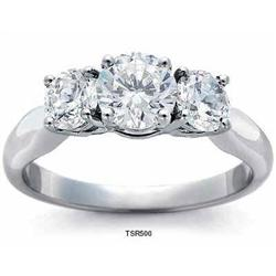 2.25 carats GOLD genuine DIAMOND engagement #2377728