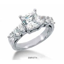 CERTIFIED Diamond Engagement Ring 2.66 Carats. #2377733