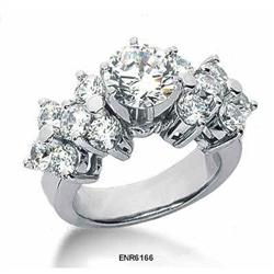 CERTIFIED Diamonds, 2.35 cts Engagement Ring #2377735