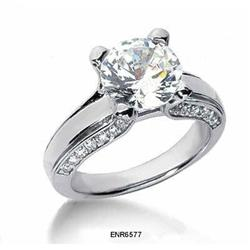 Diamond Solitaire Engagement Rings #2377741