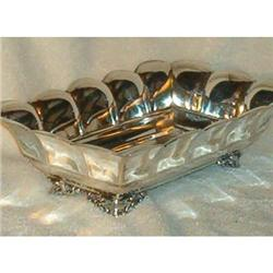 Serving Bowl for Asparagus. Silver Plate #2377947