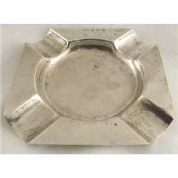 Sterling Ashtray English Birmingham 1947 #2377950