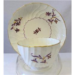 Soft Paste Porcelain Cup & Saucer c1780 #2377963