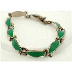 Enamel Sterling Bracelet  #2378046