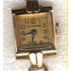 14K Gold  Yorktown Swiss Watch -works ! #2378065
