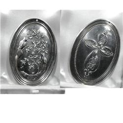 Sterling silver Christmas  medallion ornament #2378073