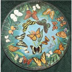 Zallinger Butterflies Puzzle Springbok 1966 #2378079