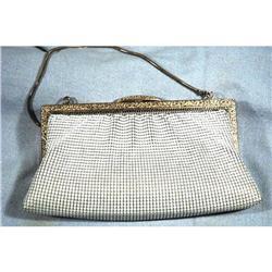 Vintage White Mesh Purse  evening bag #2378087