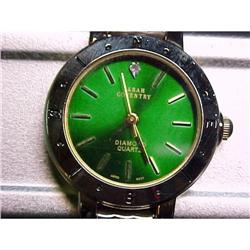 Sara Coventry    Watch Green Dial  #2378100