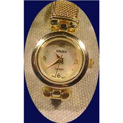 Gruen Ladies Watch with Mother of Pearl Dial #2378106