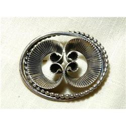 Vint. Moderne Danecraft Sterling Silver Brooch #2378116