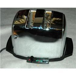 Vintage Classic Chrome Sunbeam 20-3 AG Toaster #2378139