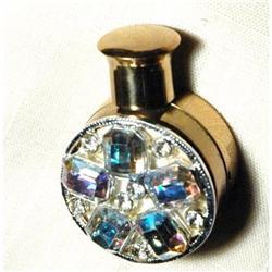 Aurora Borealias Encrusted Goldtone Perfume #2378154