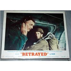 Lobby Card Lana Turner Clark Gable  Betrayed'54#2378157