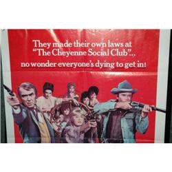 "Vintage Movie Poster ""The Cheyenne Social Club""#2378158"