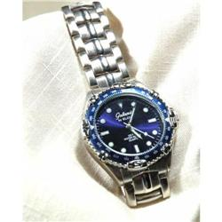 Blue Dial Elgin Galaxie Watch WR 100 #2378161