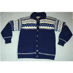 Denmark Wool Cardigan Handknit Sweater   #2378171