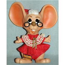 1970 Roy Des Big Ear Mrs.Santa Claus Mouse Bank#2378184