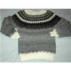 100 % Alpaca Sweater made in Peru Large #2378186