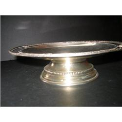 Compote  French Silver plated #2378240