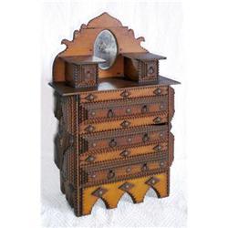 Tramp Art Dresser #2378282