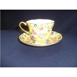 Chintz Teacup & Saucer #2378291