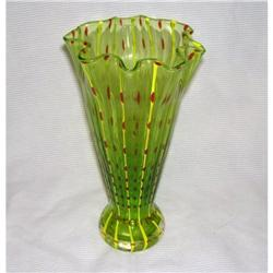 Yellow & Green Vase #2378320