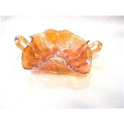 Fenton Butterflies Marigold Bon Bon Bowl #2378332