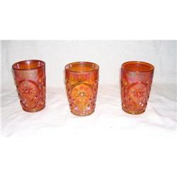 3 Marigold Daisy Tumblers #2378333