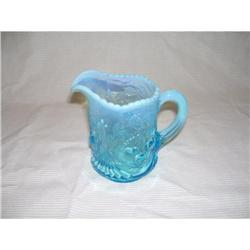 Wreathed Cherry BLue Opal Diamond Creamer #2378338