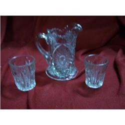 Early American Cut Glass Salesman Samples #2378347