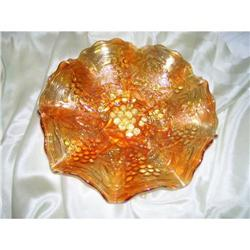 Imperial Glass 9? Marigold Bowl - GA 0053 #2378359